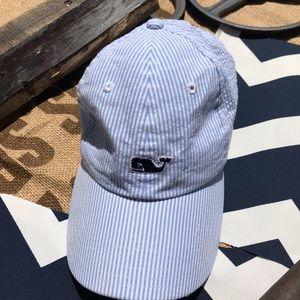 Vineyard Vines Seersucker Hat